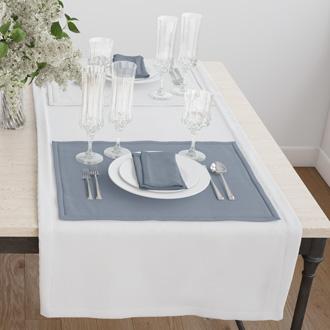 Раннер(дорожка) для стола белая