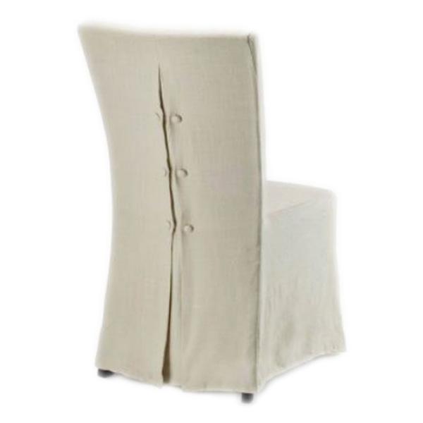 Чехол на стул бежевый