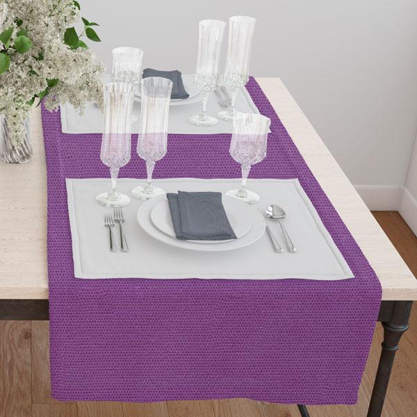 Дорожка(раннер) 120*45 цвет 175 фиолетовый
