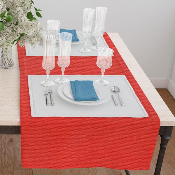 Дорожка(раннер) 120*45 цвет 022 оранжевый