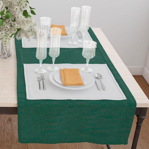 Дорожка(раннер) 120*45 цвет 036 зеленый