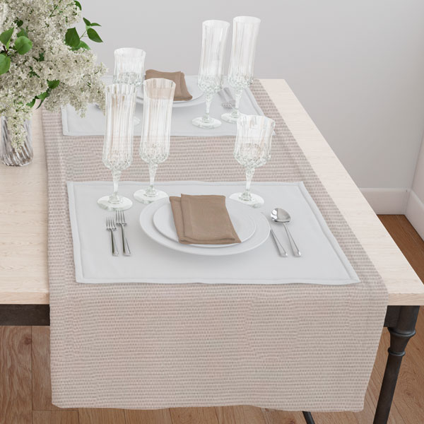 Дорожка на стол 120*45 цвет 007 серый