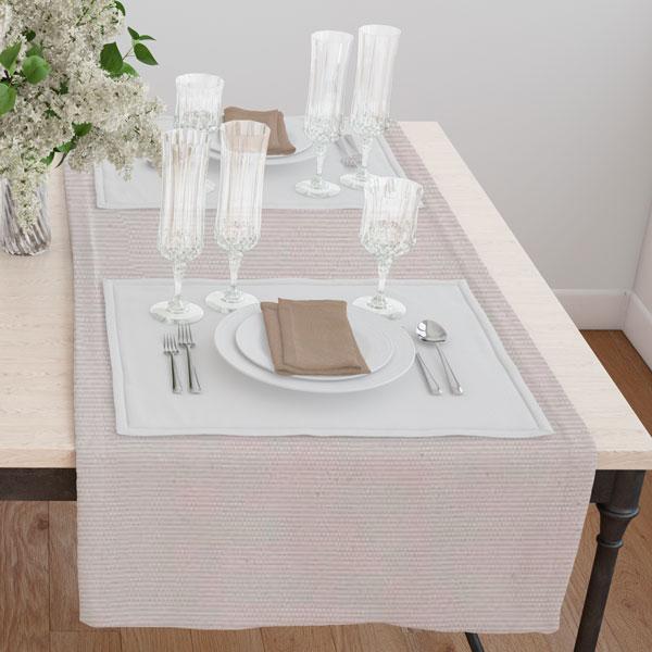Дорожка на стол 120*45 цвет 100 серый