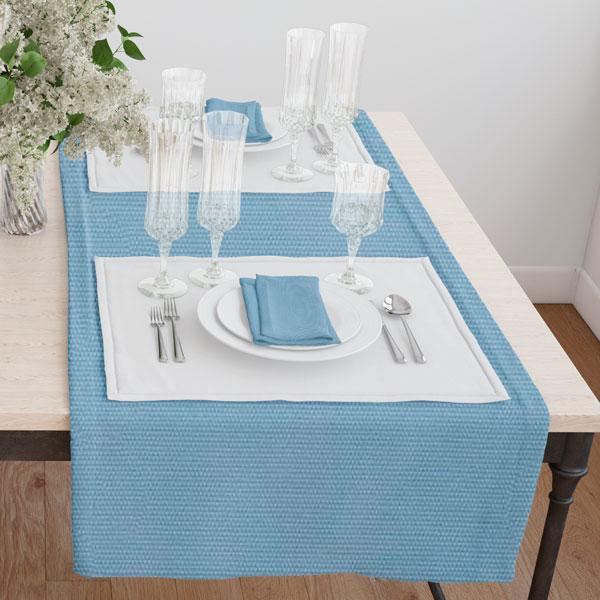 Дорожка(раннер) 120*45 цвет 033 синий