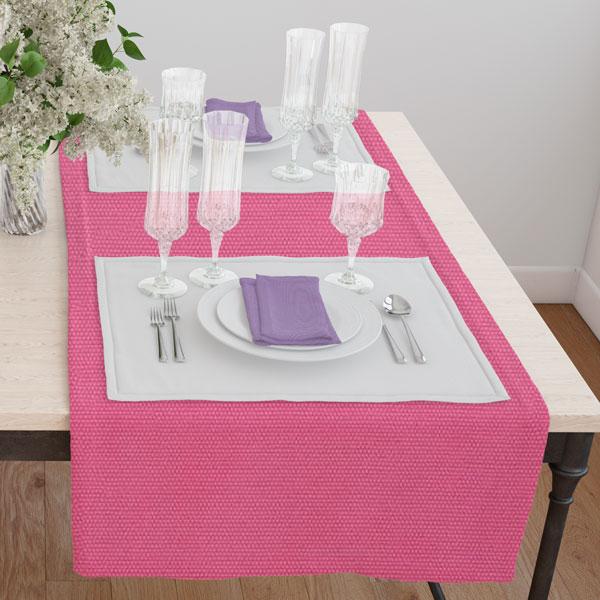 Дорожка(раннер) 120*45 цвет 123 розовый