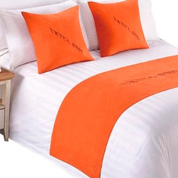 Покрывало-саше цвет оранжевый