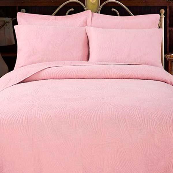 Покрывало софт цвет светло-розовый
