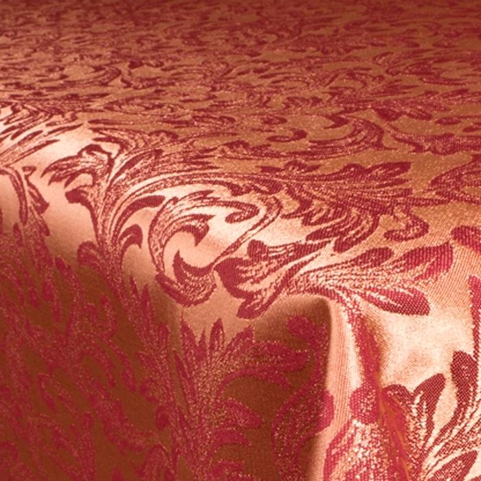 Скатерть Мати бордово-золотая