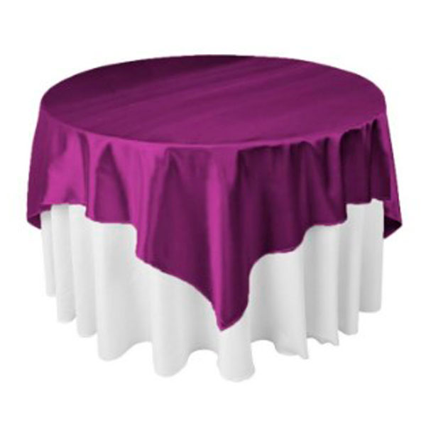 Наперон квадратный 220*220 фиолетовый