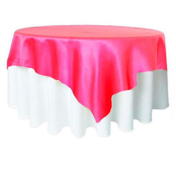 Наперон квадратный 220*220 розовый