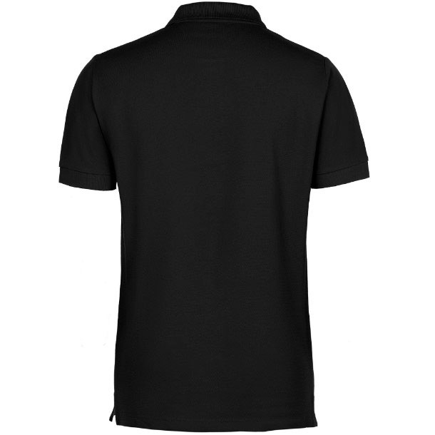 Рубашка поло унисекс черная