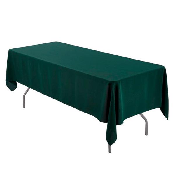 Прямоугольные скатерти 2,4*1,5 м зеленые