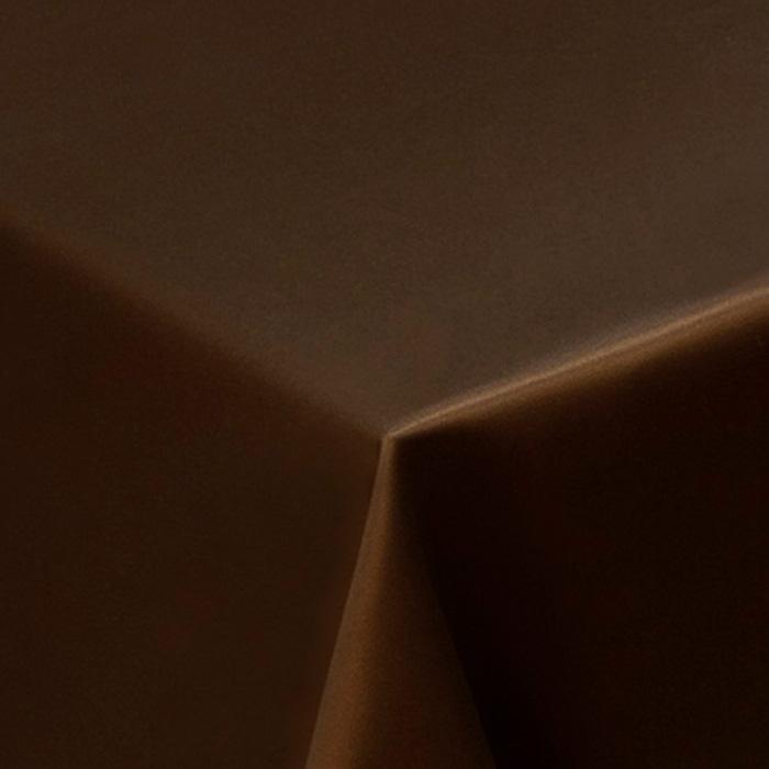 Скатерть Ричард круглая 300см коричневая 1346