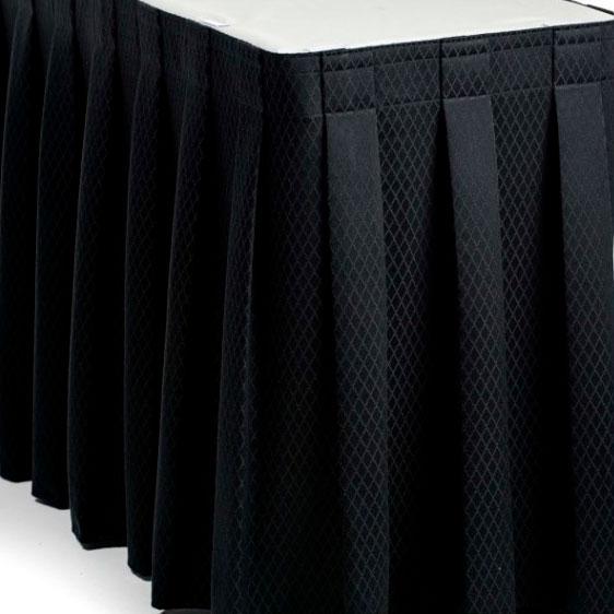 Фуршетная юбка черная